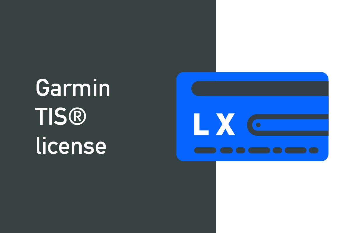 Garmin TIS® license