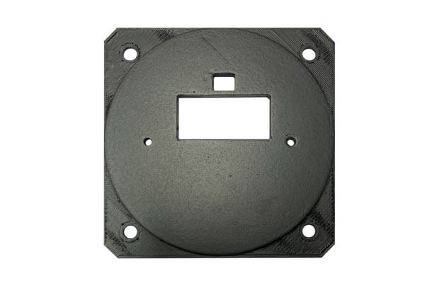 Traffic square to 80 mm adapter
