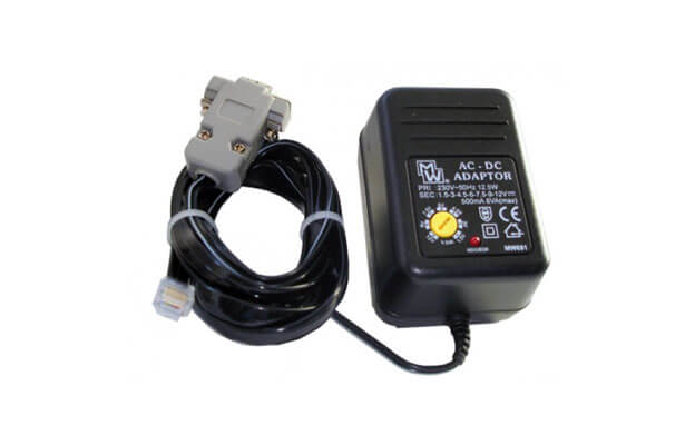 Wall plug with cable for Colibri, LX20 and LX20-2000