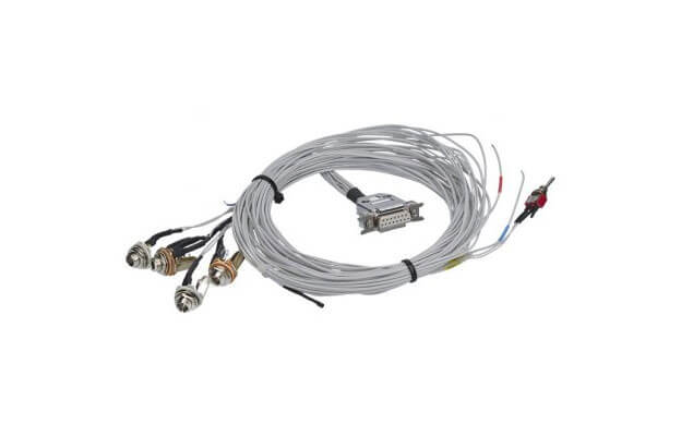 KBS2 Double-Seater Cable Set with sockets for headsets