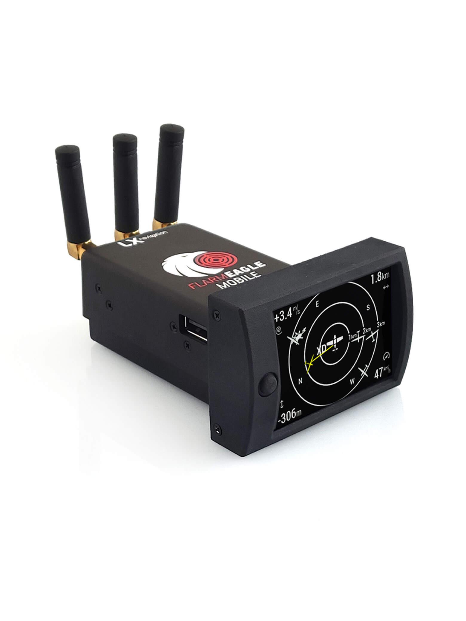 PowerFLARM Eagle mobile ADSB (WiFi, 2022)