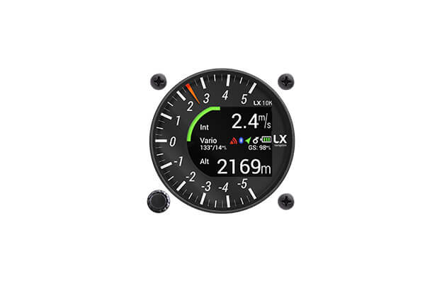 57 mm vario indicator for LX10K